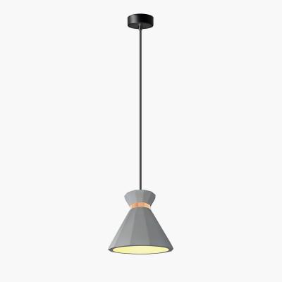 Lampa wisząca Lumatix Mirzam, ciemnoszary beton architektoniczny