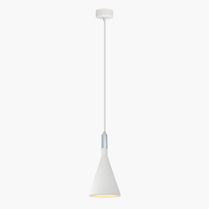 Lampa wisząca Lumatix PROCJON, biały gips